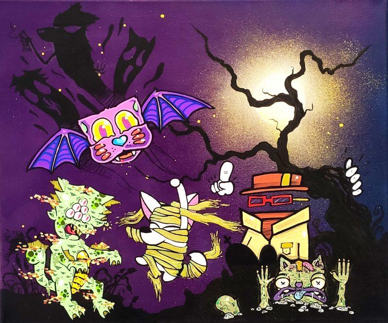 Pintura Puppet Mindz Halloween Edition